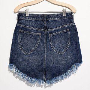 NWT Free People Bailey Denim Mini Skirt